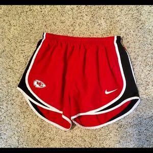 Kansas City Chiefs Nike shorts